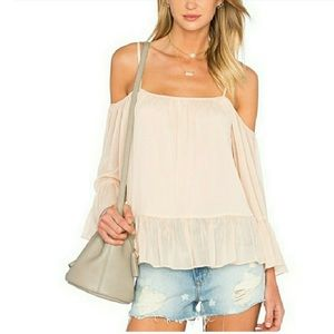 Lovers and Friends Cold Shoulder Top